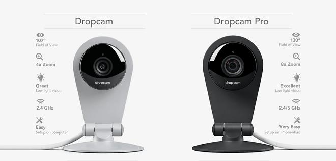 Dropcam Pro vs Dropcam HD