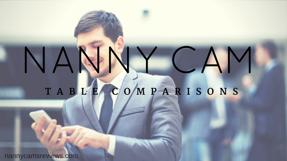 Nanny Cam Table Comparisons
