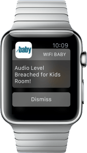 WIFI Baby 4.0 Apple Watch Alerts