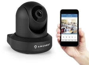 DIY home surveillance - Amcrest ProHD 1080P nanny cam