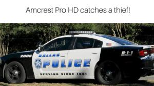 Amcrest Pro HD 1080P nanny cam catches a burgler!