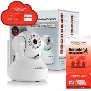 Foscam F19861P wireless IP camera