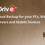 iDrive - hard drive backups