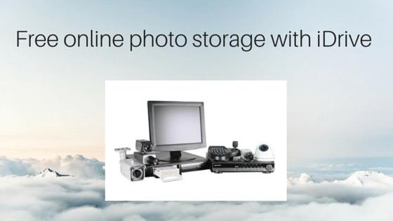 free online photo storage with iDrive
