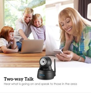 HooToo security camera and nanny cam
