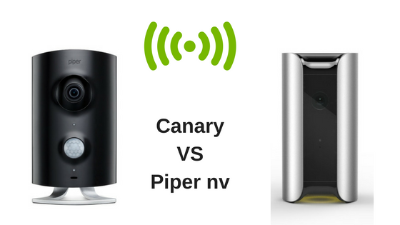 Canary vs Piper nv Security System
