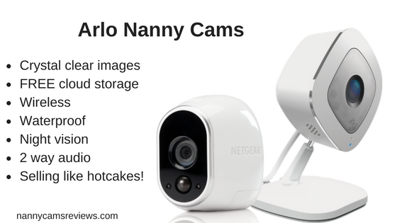 Arlo Home Security Cameras and Nanny Cams
