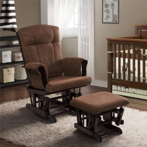 Narrowest Nursery Glider by Baby Relax - glider for small nursery