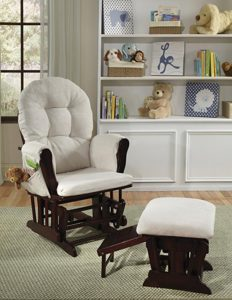 Status Roma Nursery Glider And Ottoman For Small