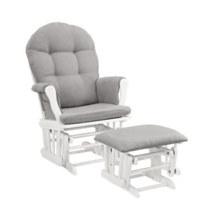 Windsor Glider and Ottoman - narrowest nursery gliders