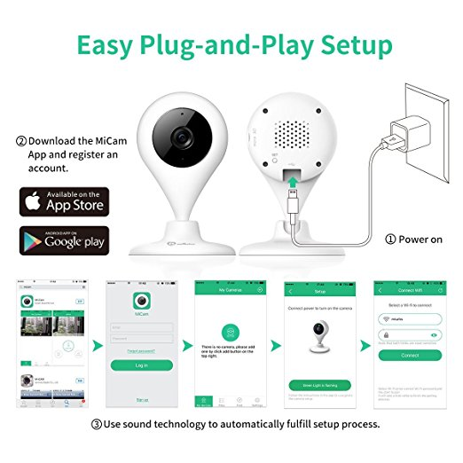 MiSafes surveillance camera