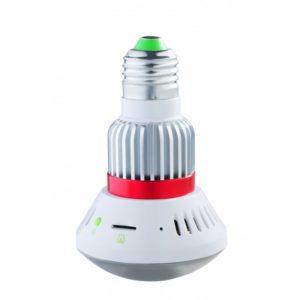 720p HD Wi-Fi IP Light Bulb Camera - real hidden cam