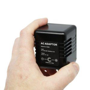 C5500 Zone Shield AC Adapter 720p HD Camera - spy cam video