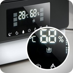 LED display for the warm & cool humidifier