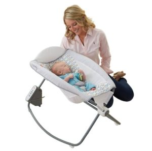 Fisher-Price Newborn Auto Rock n Play Sleeper - great baby shower gifts