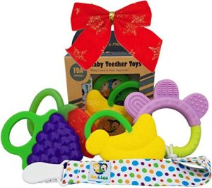 Ike and Leo Teething Toys