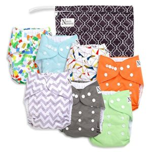 Noras Nursery Baby Cloth Pocket Diapers