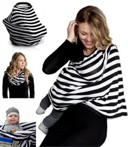 Nursing Breastfeeding Cover Scarf - best new baby gifts