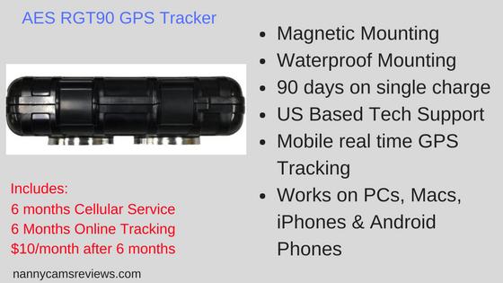 AES RGT90 GPS Tracker