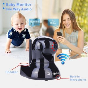 SOTION WiFi IP Security Video Camera and Nanny Cam