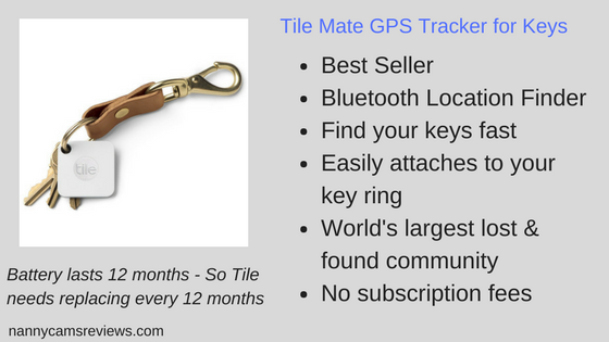 TileMate GPS Tracker for Keys