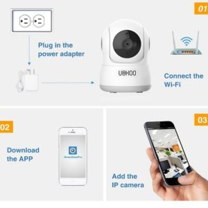 UOKOO WIFI Wireless Security Camera and Nanny Cam - Review