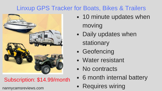 Linxup LAAA61 GPS Tracker for Boats, Trailers & Bikes