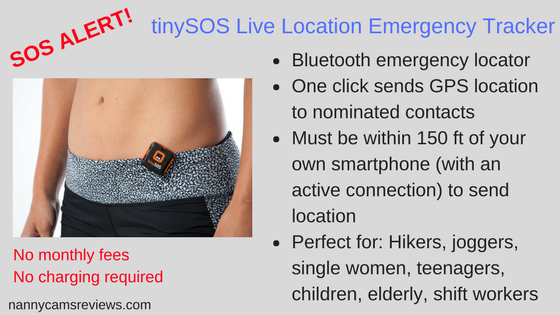 tinySOS Live Location Emergency Tracker