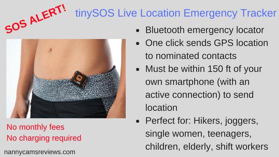 tinySOS Live Location Emergency Tracker