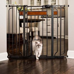 Carlson Home Design Extra Tall Baby Gate with Pet Door
