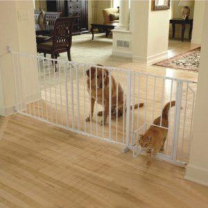 Best Baby Gates With Pet Doors Keeping Babies Safe