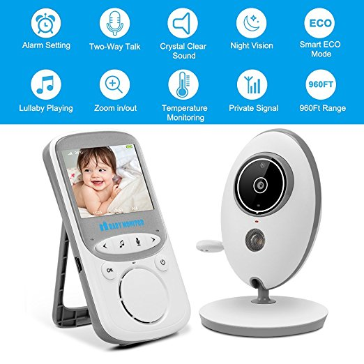 Anmade Wireless Video Baby Monitor