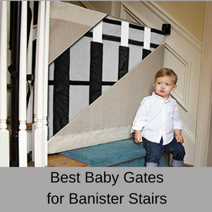 Best baby gates for banister stairs