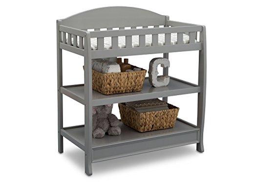 Delta Children infant Changing Table with Pad - nursery checklist