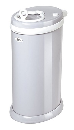 Steel Odor Locking Diaper Pail - nursery checklist