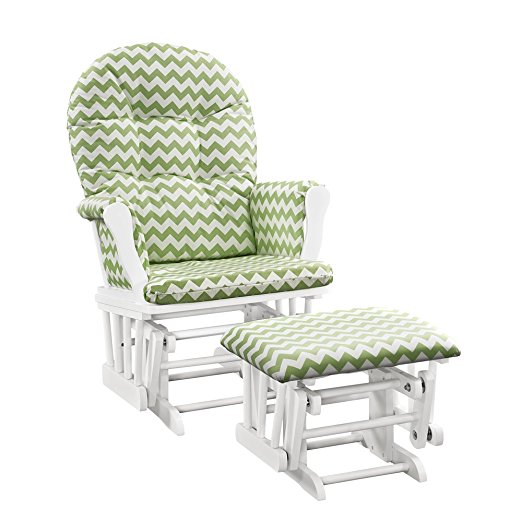 Windsor Glider and ottoman - nursery checklist