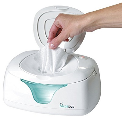 hiccapop Wipe Warmer and Baby Wet Wipes Dispenser - nursery checklist