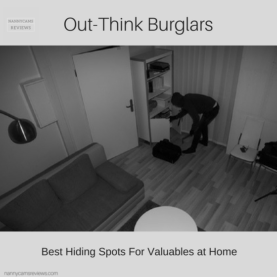 Out-Think Burglars - Best hiding spots for valuables at home