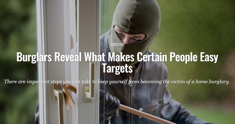 fashionbeans.com - Burglars Reveal What Makes Certain People Easy Targets